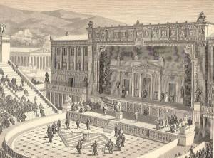 DionysiusTheater en Atenas