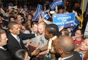 Votantes de Obama