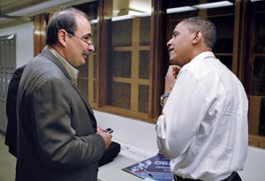 David Axelrod y Obama