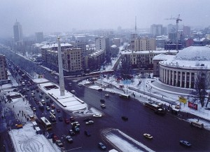 Invierno en Kiev