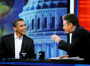 Obama & Stewart