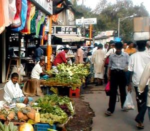 Mercado de Bombay