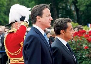 Sarkozy y Cameron