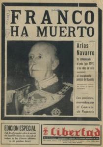 La muerte de Francisco Franco