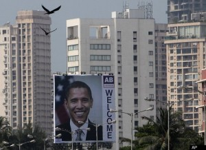 Obama ad in India