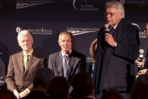 Bill Clinton, Tony Blair, Felipe Gonzalez