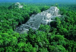 Ruinas de Calakmul, México