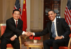 Obama y Hu Jintao