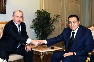 Netanyahu and Mubarak